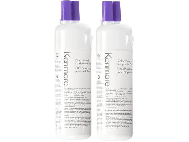 Genuine Kenmore Elite 9081 Refrigerator Water Filter - W10295370A EDR1RXD1 -2 pack photo