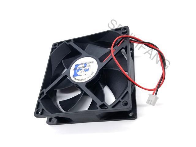 Brand for RDL9025S 9025 DC12V 0.16A 90*90*25MM 2 line refrigerator fan photo
