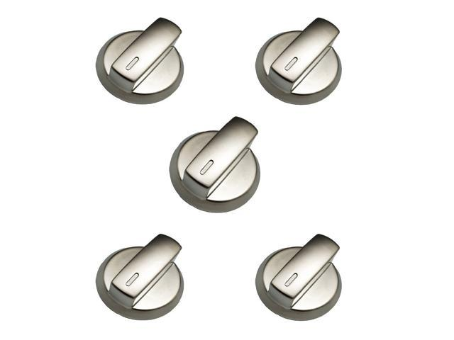 Earth Star Gas Stove Cooktop Accessories Parts Rotary Metal Shinny Knob Handle Switch 5PCS/lot photo