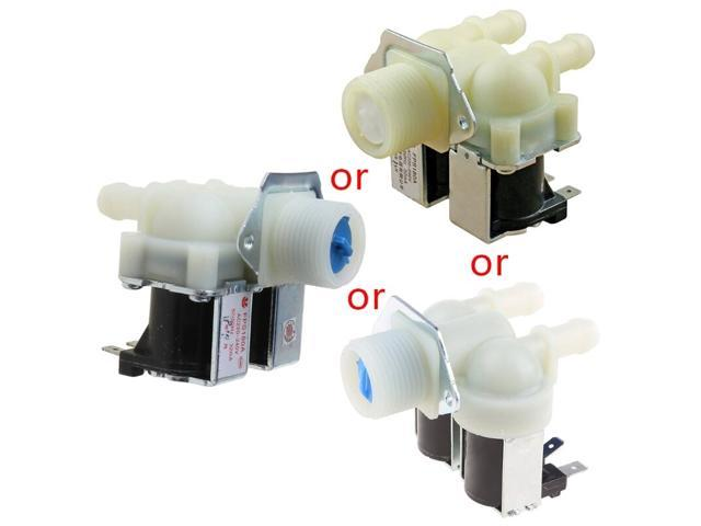 Universal Washing Machine Water Double Inlet Valve Home Electrical Appliance Durable Replacement Parts photo