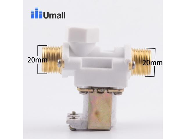 12V two way electric water heater solenoid valve pressure temperature control valve water heater repair appliance part photo