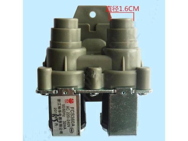 FCS360A Washing Machine Parts Double head inlet solenoid valve photo