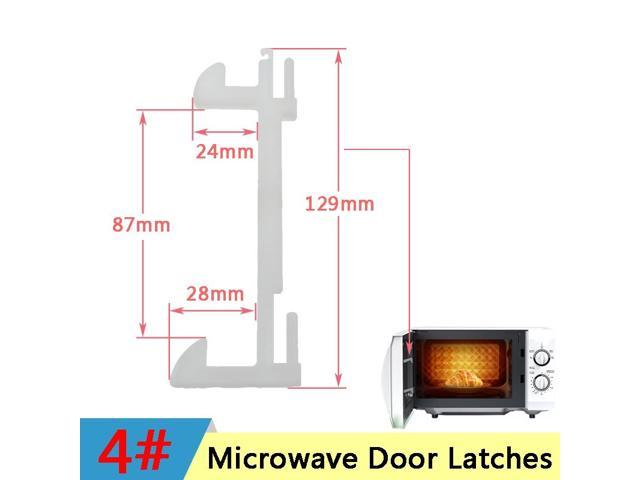 Microwave Hook Door Latches for Samsung Galanz Midea Panasonic Haier Microwave Oven Hook Door Latch Spare Parts Accessories photo