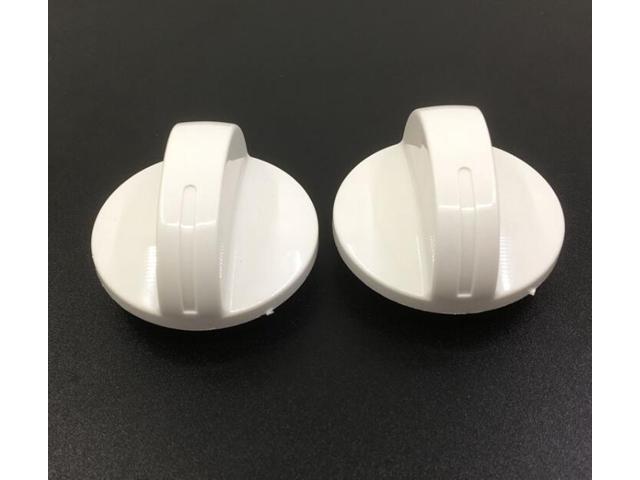 Universal Washing Machine Parts Cross core white plastic knobs 4.5cm photo