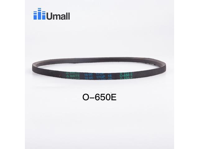 universal washing machine rubber drive belt O-650 washer motor rubber drive belt washer repair parts for laundry appliance parts photo