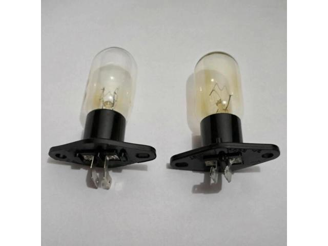 globe bulbs replacement for Midea Haier Microwave Oven lighting with socket and L pins 220V 20W Microwave Oven Parts photo
