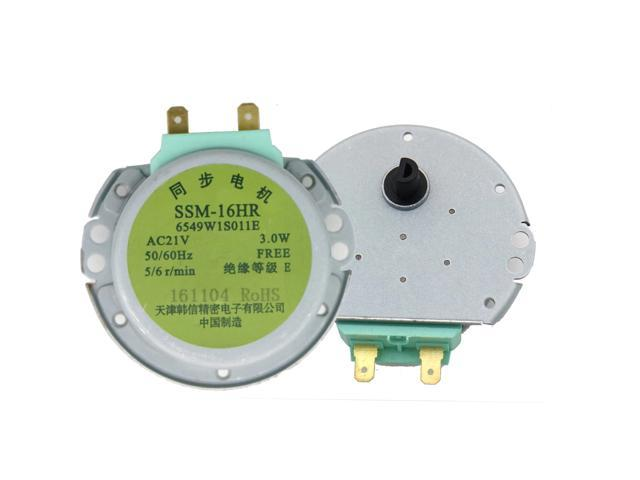 S EST Microwave Oven Synchronous Motor Tray Motors SSM-16HR AC 21V 3W 50/60Hz for LG Microwave Oven Parts photo