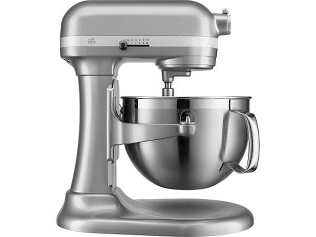 KitchenAid 5.7 L (6 qt.) Bowl-lift Stand Mixer - Silver (KP26M9PCCU) Comes With 1 Year Warranty photo