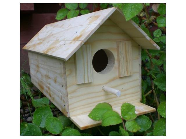 Wood Bird House Kit Complete With Nails (Toys & Games Games) photo