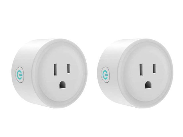 Giant Base Smart Plug, Smart WiFi Outlet Works with Alexa and Google Home, 2.4G WiFi Only, No Hub Required, Remote Control Your Home Appliances. photo