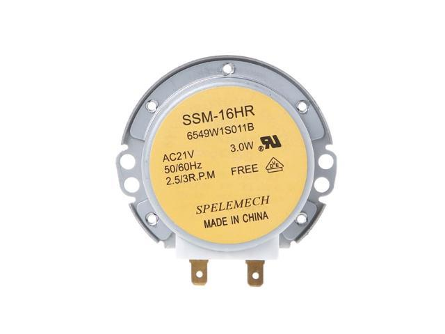 1 Pc Microwave Oven Turntable Synchronous Motor SSM-16HR 21V 3W 50/60Hz For LG photo