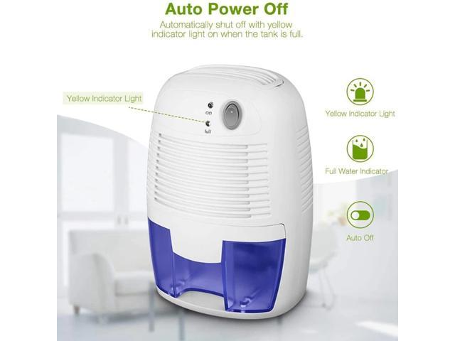 Mini Dehumidifier USB Portable Air Dryer Electric Cooling with 500ML Water Tank Home Bedroom Kitchen Office Car photo