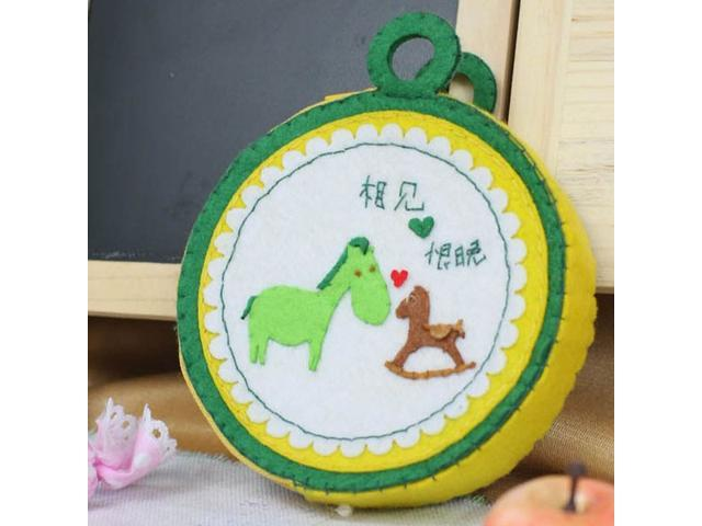 DIY Handmade Circular Coin Pouch Change Purse - (Luggage & Bags) photo