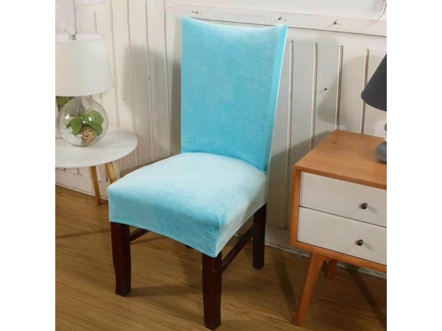 Ultra-soft Faye velvet thickened plus velvet warm chair cover fabric stool cover elastic chair back cover chair cover seat cover # 11 - eleven (Home & Garden Decor) photo