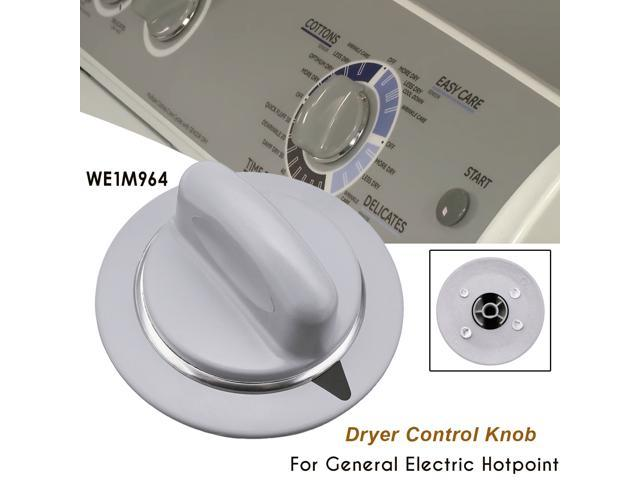 Dryer Control Knob Timer Gray For General Electric Hotpoint WE1M964 + - photo