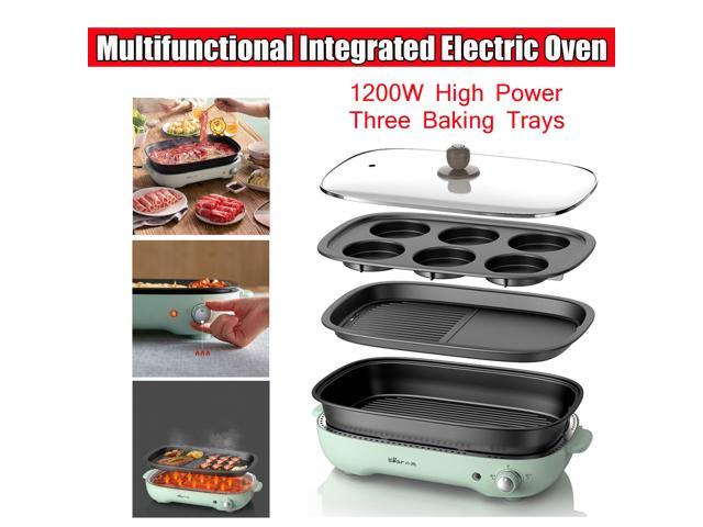 Bear Multifunctional Electric Cookers Hot Pot Oven Roaster Baker 3 Plate Detachable - photo