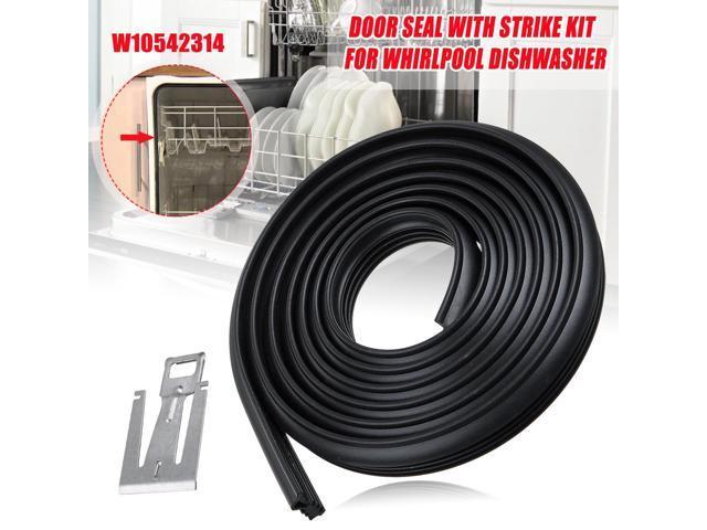Door Sealing Gasket For Whirlpool Dishwasher PS5136129 AP5650274 W10542314 - photo