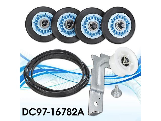 Washer Dryer Parts Repair Drum Support Roller & Belt & Idler Pulley Kit DC97-16782A - photo