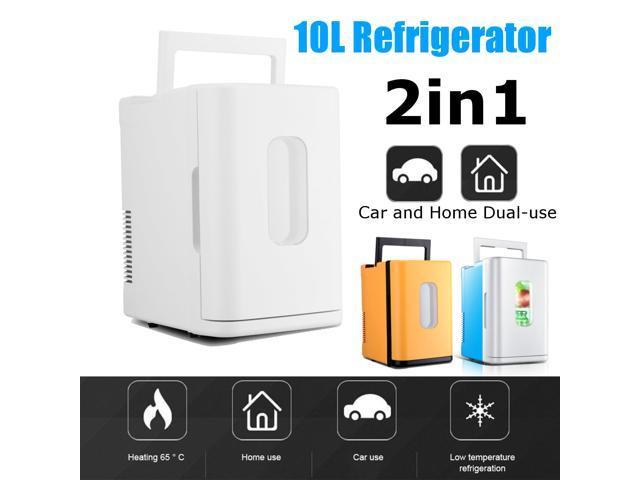 12V-220V 10L Car Electronic Refrigerator Vehicle-mounted Electronic Refrigerator - Blue photo