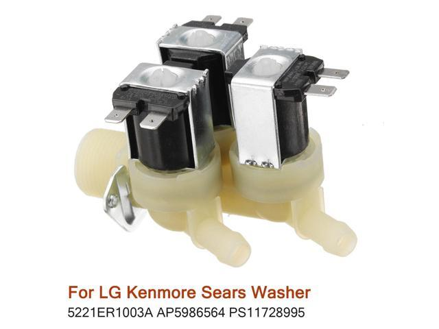 Water Inlet Valve for Kenmore Sears Washer 5221ER1003A AP5986564 PS11728995 - photo