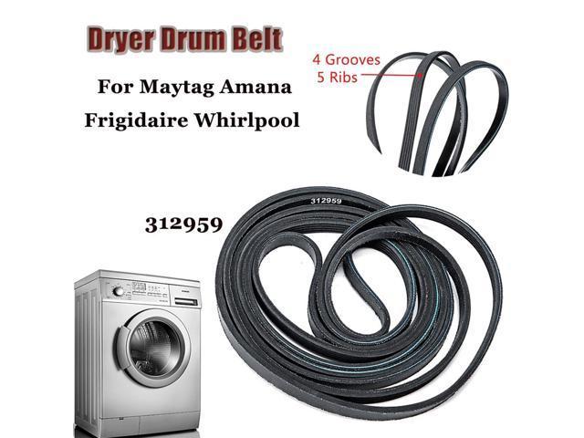LB234 Dryer Drum Belt for Maytag 3-12959 312959 Y312959 NEW 100' 5 Rib 4 Groove - photo