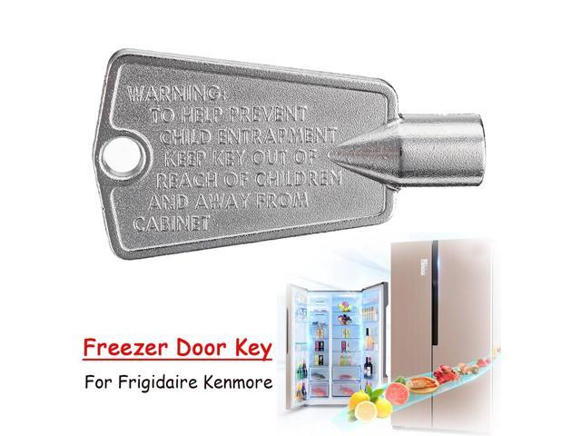 Pack of 2 Freezer Door Keys Frigidaire WP842177 Whirlpool Refrigerator 841277 - photo