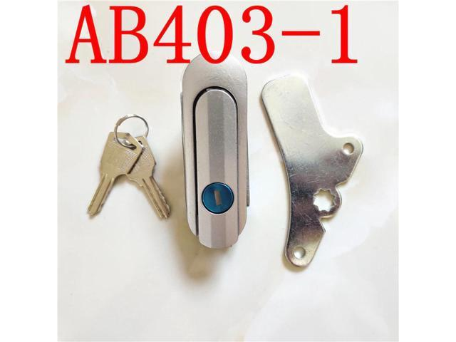 10pcs Haitan old AB403-1 AB402-1 cabinet lock fire lock circular plane lock distribution box door lock switch photo