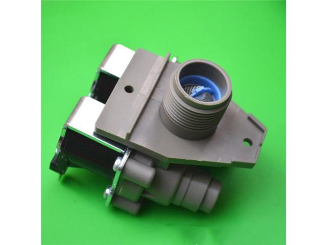 2 way Normally Closed G3/4 Plastic Washing Machine Valve Water Electric Inlet Feed Valve for LG, Whirlpool, Midea photo