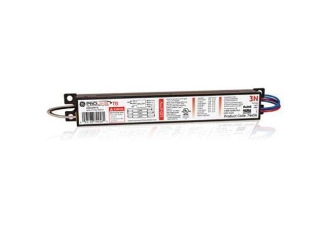GE Lighting 74456 GE332MAX-G-N 120/277-Volt Multi-Volt ProLine Electronic Fluorescent T8 Instant Start Ballast 3 or 2 F32T8 Lamps photo