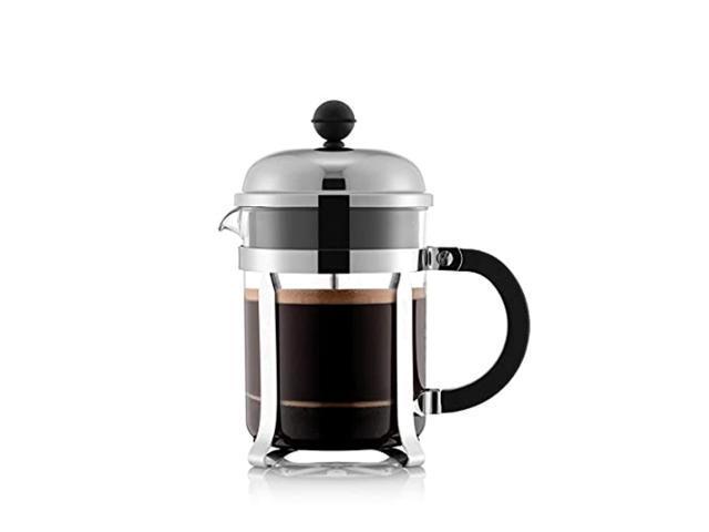 bodum chambord french press coffee maker, 17 ounce, .5 liter, chrome photo