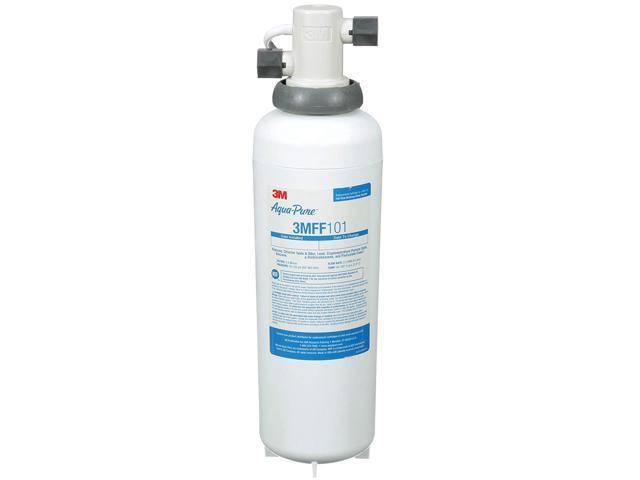 3M™ 3MFF100 Under Sink Full Flow Water Filter System. Each photo
