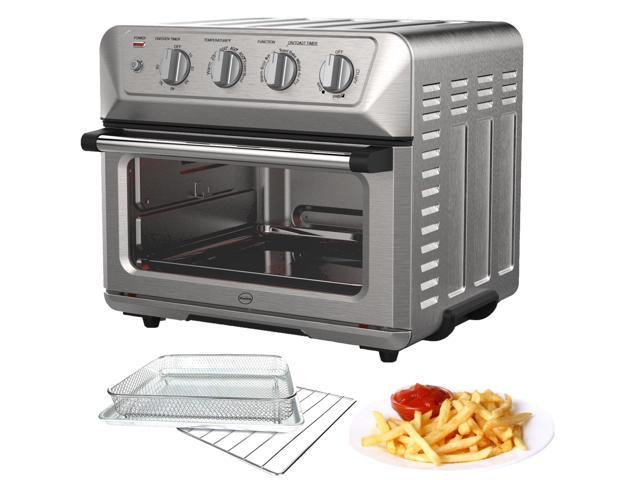 iCucina 1800W Convection Toaster Oven Air-fryer 7-in-1 appliance Toast-Air Technology with Stainless Steel Accessories photo