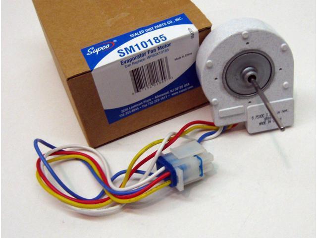 SM10185 for WR60X10185 GE Evaporator Freezer Fan Motor PS1019114 AP3875639 SUPCO photo