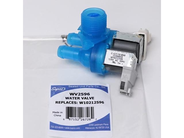 Supco WV2596 Washing Machine Water Solenoid Valve for Whirlpool W10212596 photo