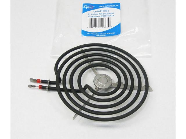 Supco CH30T10074 for GE WB30T10074 Burner Element Stove Eye Large 8' photo