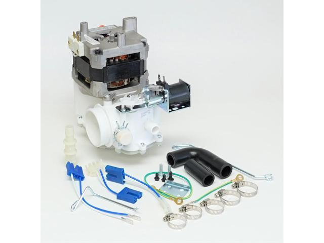 Choice Parts WD26X10013 for GE Dishwasher Complete Pump Motor Solenoid Assembly photo