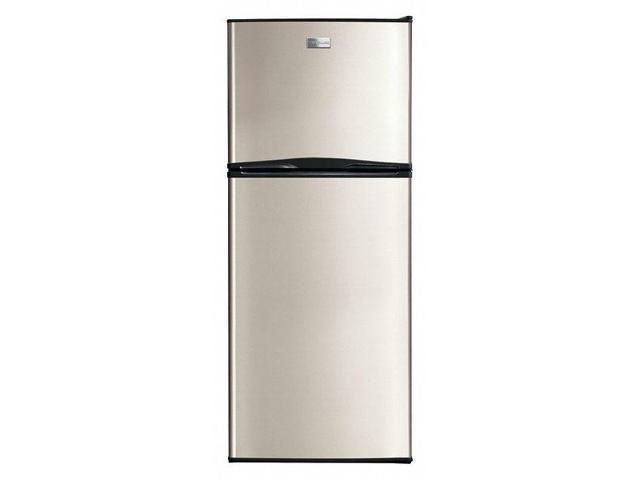 FRIGIDAIRE FFET1022UV Refrigerator, Top Freezer,10cu ft, Silver photo