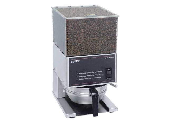 BUNN LPG Stainless Steel 6 lb./Hopper Portion Control Coffee Grinder photo