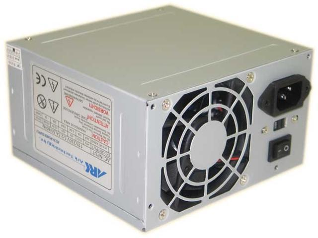 Ark Technology 500W ATX Computer Power Supply ARK500/8, Supports 24pin and 20pin (Electronics Computer Components) photo