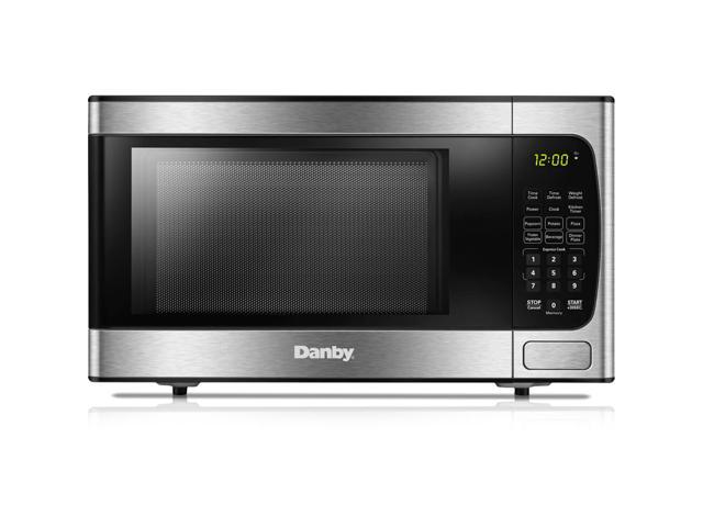 Danby 0.9 Cu. Ft. Stainless Counter-Top Microwave photo
