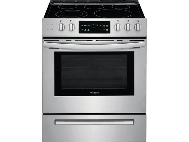 Frigidaire FFEH3054US 5.0 Cu. Ft. Stainless Freestanding Electric Range photo