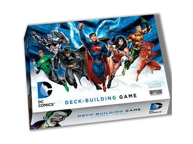 DC Comics Deck Building Game photo