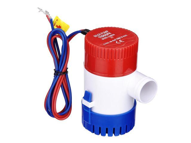 1100GPH 12V Electric Marine Submersible Bilge Sump Water Pump for Boat Yacht photo