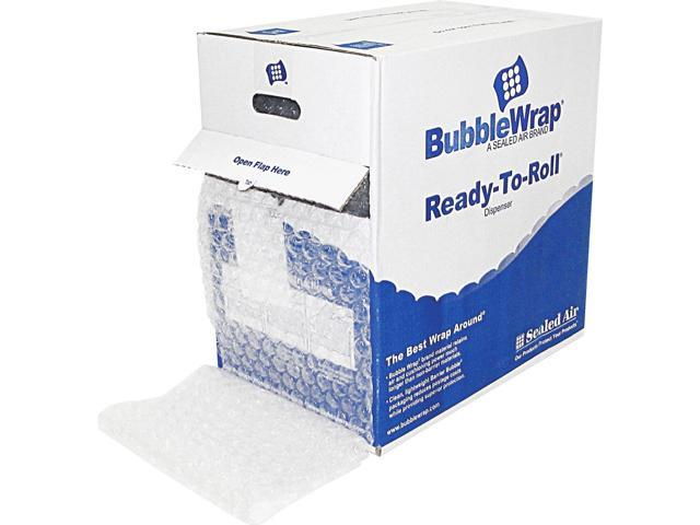 Sealed Air 91145 Bubble Wrap Cushioning Material In Dispenser Box, 5/16' Thick, 12' x 100ft photo