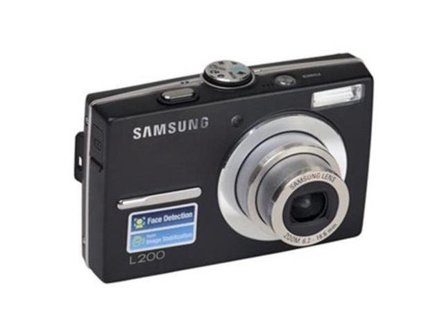Samsung L200 10.2 Megapixel Compact Camera - Black photo