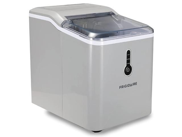 Frigidaire EFIC189-Silver Compact Ice Maker, 26 lb per Day, Silver photo