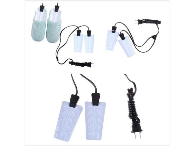 Portable Electronic-Heater Shoes Dryer Boot Electric Light Socks Gloves Warmer Fast Heated! Metal & Plastic White photo