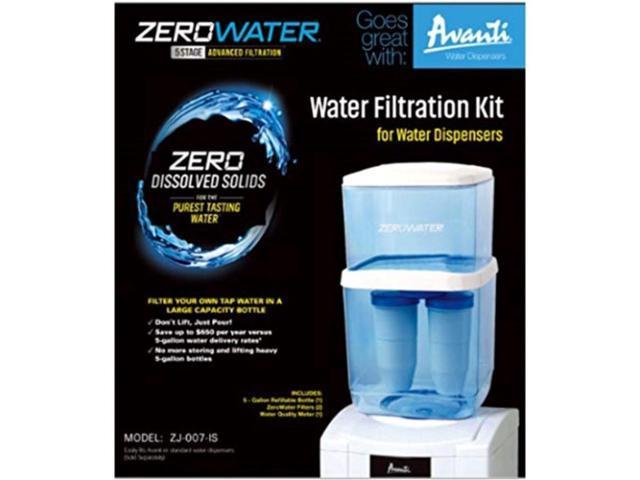 Avanti ZJ007-IS ZeroWater Water Bottle Kit, White photo