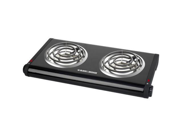 Spectrum Brands/Black & Decker 2-Burner Buffet Range DB1002B Unit: EACH photo
