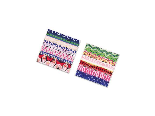 Stupell Home DãCor Boho Pattern 2Pc Wall Plaque Art Set, 12 X 0.5 X 12, Proudly Made In Usa photo